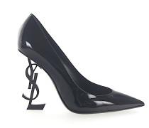 High Heels Pumps Lackleder Logo