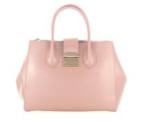 Handtasche Metropolis M Leder rosè geprägt