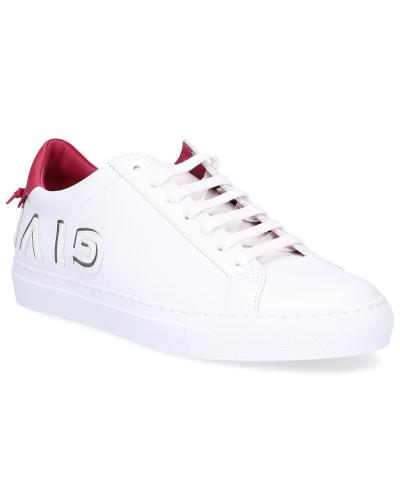 Sneaker Glattleder Logo pink