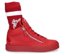 Sneaker high MAY LONDON Glattleder Logo