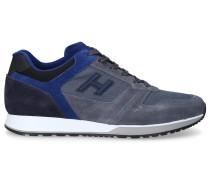 Sneaker low H321 Veloursleder Logo
