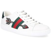 Sneaker ACE Kalbsleder Webdetails Stickerei
