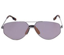 Sonnenbrille Aviator 40014U 18X Metall Schildkröte