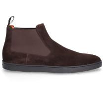 Chelsea Boots 15239 Veloursleder schwarz