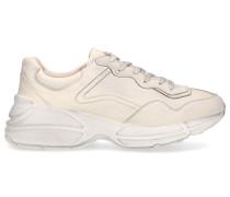 Sneaker low RHYTON Kalbsleder Used creme