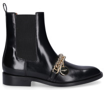 Chelsea Boots CHAIN ANKLE BOOTS Kalbsleder Logo