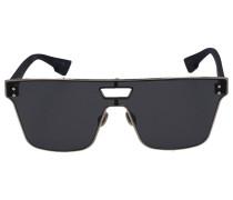 Sonnenbrille Square IZON1T Acetat schwarz