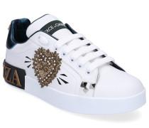 Sneaker low PORTOFINO Glattleder Logo