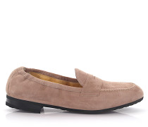 Loafer Kalbsleder Veloursleder
