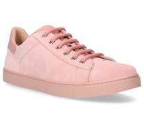 Sneaker low LOW TOP Wildleder altrosa