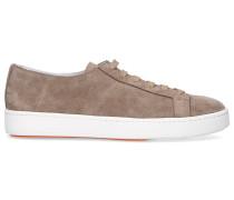 Sneaker low 14387 Veloursleder taupe
