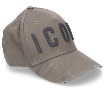 Snapback Cap ICON-PATCH Stoff olive used
