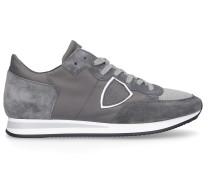 Sneaker low TROPEZ Kalbsleder Veloursleder Logo Patch