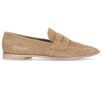Loafer D740002 Veloursleder beige