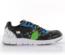 Sneakers New Jamaica Leder Polyester schwarz