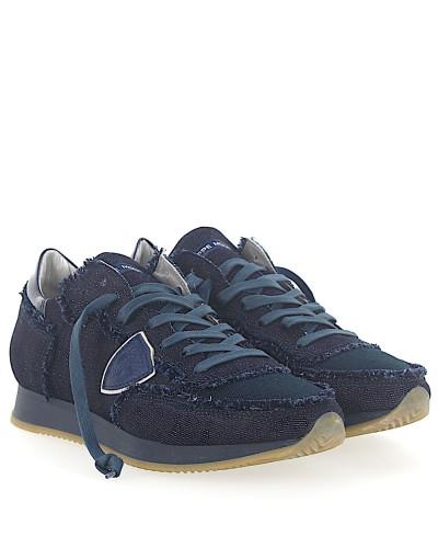Sneaker TROPEZ Jeans dunkel Mesh