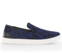Sneakers Slip On London Pant Nappaleder Pony Leopard