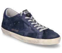 Sneaker low SUPERSTAR Veloursleder Used dunkel