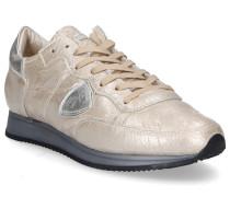 Sneaker low TROPEZ Glattleder Logo Patch