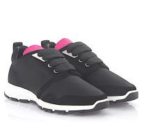 Sneaker MARTE RUN Hightech-Jersey pink Veloursleder