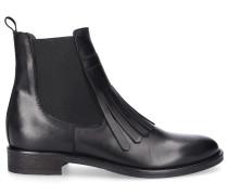 Chelsea Boots SAINT BARTH Kalbsleder Logo