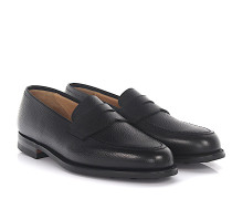 Penny Loafer Slipper BOSTON Leder Scotchgrain