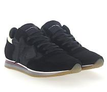 Sneaker TROPEZ Veloursleder Nylon Mesh