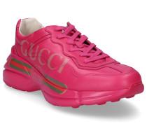 Sneaker low APOLLO Glattleder Logo