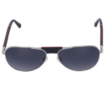 Sonnenbrille Aviator ACTURU 03 Holz schwarz
