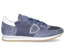 Sneaker low TROPEZ Textil Veloursleder Logo Patch