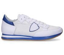Sneaker low TROPEZ Kalbsleder Textil Logo