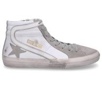 Sneaker high SLIDE Glattleder Veloursleder Used