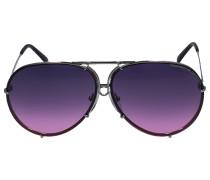 Sonnebrille Aviator 8478 Titan grau rosa