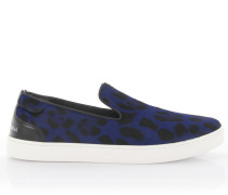 Sneakers Slip On London Pant Nappaleder Pony Leopard