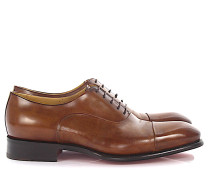 Businessschuhe Oxford Kalbsleder braun