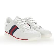 Sneaker A9LA0 Microssima Leder Web-Streifen
