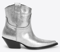 Ankle Boots Silber