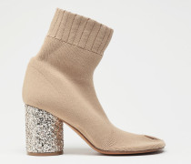 Ankle Boots Tabi Kamel