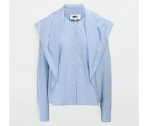 Langarmhemd Himmelblau