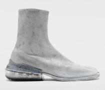 Ankle Boots Tabi Hellgrau