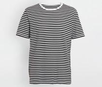 Kurzärmliges T-shirt Schwarz Baumwolle
