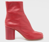 Ankle Boots Tabi Rot