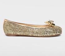 Ballerinas Tabi Gold
