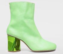 Ankle Boots Hellgrün