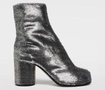 Ankle Boots Tabi Silber