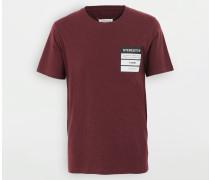 Kurzärmliges T-shirt Bordeaux