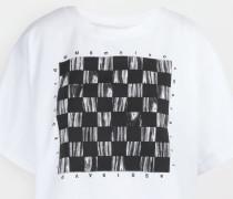 Kurzärmliges T-shirt Weiß Baumwolle