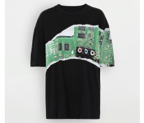 Kurzärmliges T-shirt Schwarz