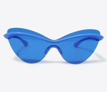 Brille Blau Acetat