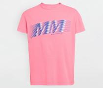 Kurzärmliges T-shirt Koralle Baumwolle